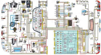 Электросхема ваз 21102 инжектор 8 клапанов